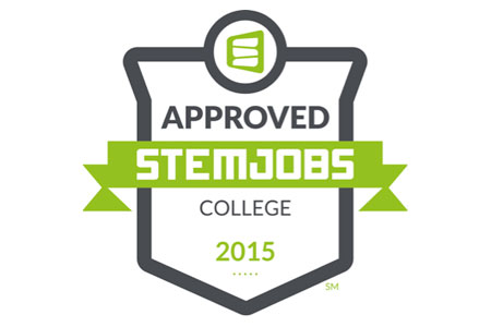 The STEM JobsSM Approved Colleges survey measures how effectively schools align their programs to high demand, high paying STEM jobs, and how well they assist their students in achieving career aspirations in STEM fields.