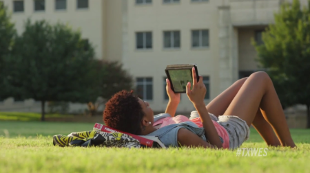 Texas Wesleyan's new 60-second commercial first aired on Oct. 27, 2014.