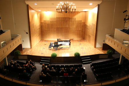 The annual Stephen Barr Memorial Concert will take place Friday, Oct. 30, in Martin Hall.