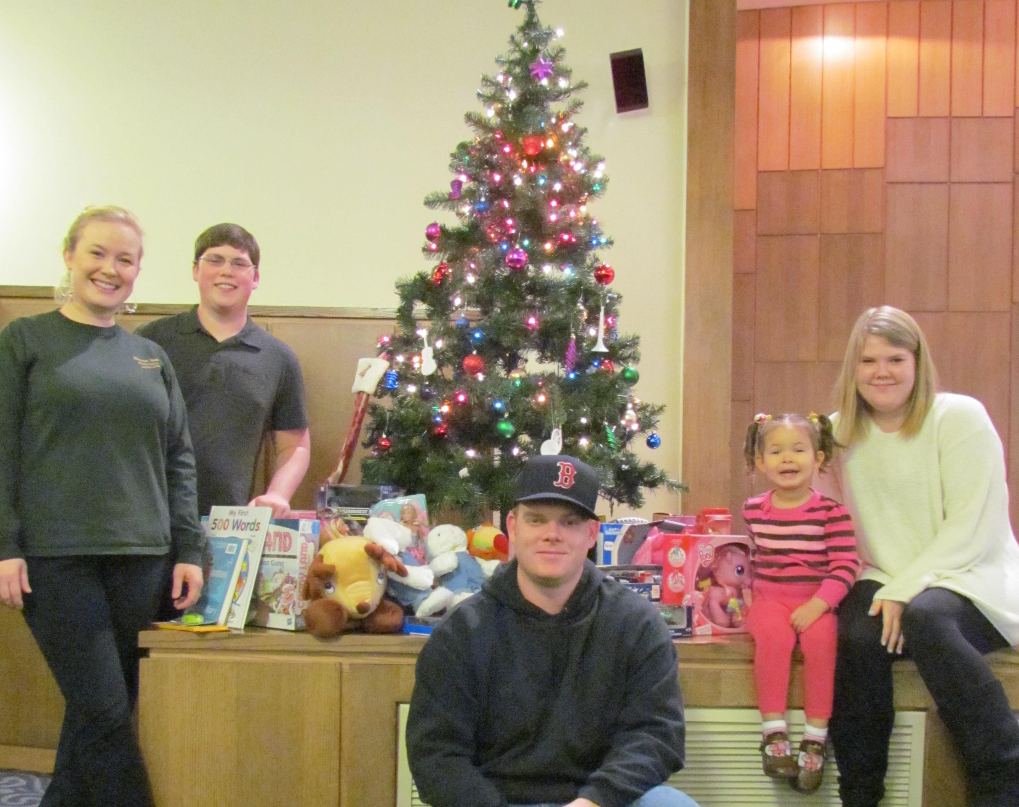 Music Students and Faculty Give Back with annual Food Drive and Toy Drive