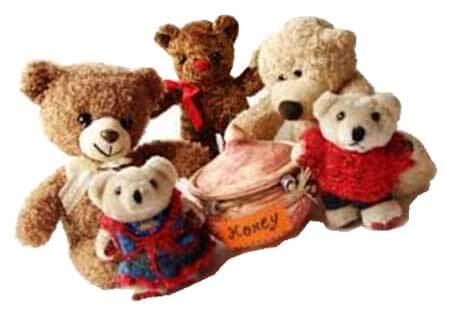 The School of Arts and Letters collects stuffed bears and friends annually for children in crisis situations.